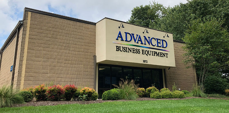 Asheville headquarters of Advanced Business Equipment